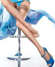 Bas autofixant femme été orteils pied ouvert top dentelle FIORE T2 T3 T4 T5