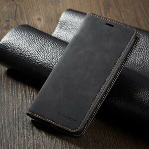 Magnet Leather Wallet Case For iPhone 12 7 8 Plus XS Max XR card slot Flip Cover