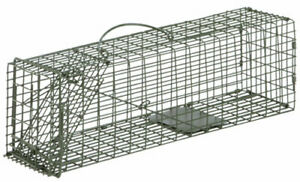 """2 - Cage Live Trap 16""""x5""""x5""""  Trapping rabbit Squirrel Chipmunk Rat"""