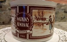 WATKINS ALMANAC *MARCH*1904* HANDLED SOUP BOWL