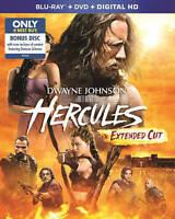 Hercules-Paramount-(Blu-ray+DVD 2 Disc Set)-Dwayne Johnson-Extended Cut