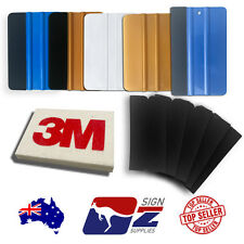 Ultimate Pro Vehicle Wrapping Squeegee wrap pack Soft Felt Edge 3M Signage Vinyl