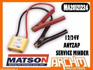 MATSON MA20121224 - 12/24V ANTZAP SERVICE MINDER - BATTERY SURGE PROTECTION