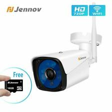 Wireless WiFi Ip Security Camera 720P Outdoor Home Surveillance With 16G Tf Card