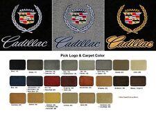 Lloyd Mats Vintage Cadillac Crest & Word Ultimat Front Floor Mats (1941-2001)