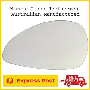 Citroen C4 1st Gen 2004 - 2010 Left Passengers Side Mirror Glass Replacement