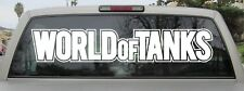 World of Tanks Sticker - Vinyl Decal - Various Sizes & Colors - 2 Styles