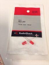 5mm Red LED #276-0330 By RadioShack