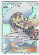 Pokemon TCG SM SUN & MOON BASE SET : LILLIE 147/149 FULL ART