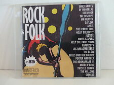 CD Sampler Rock & Folk 19 IAN HUNTER JUSTICE EMILY HAINES DEERHOOF CATLEYA ANGIL