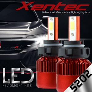 Cree 388W 38800LM H16 5202 LED Headlight Kit Car Bulbs Fog Lights 6000K White
