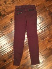 "J Brand ""Zoey"" Deep Purple Skinny Jeans, Size 25"
