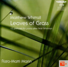 Matthew Whittall : Matthew Whittall: Leaves of Grass: 12 Preludes for Piano