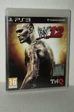 WWE 12 GIOCO USATO BUONO STATO SONY PS3 EDIZIONE ITALIANA PAL MA1 49308