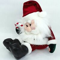 Christmas Santa Claus figure ornament toy doll Laughing Gemmy Motion sensor