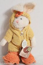Boyds Bear Graham Quakers Bunny Rabbit Dressed as a Duck Plush Toy Doll Nwt