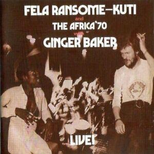 Fela Kuti - Fela With Ginger Baker Live! [CD]
