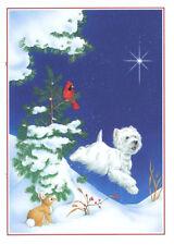 "Westie Christmas Cards ""Joy"" by Borgo"