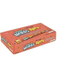 Nerds Rope Rainbow Candy 0.92 Ounce Package (Pack of 24) End Of March 2020 Date