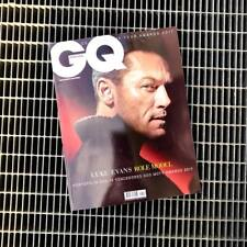 GQ Magazine Portugal December 2017/January 2018 Luke Evans Adelino Gomes NEW