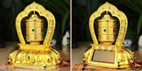 alle LEGIERUNG SOLAR Gebetsmühle Prayer Wheel Buddhistische 6 Mantra