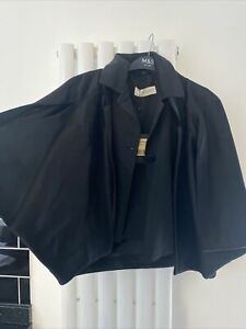 Pringle Of Scotland Womens Summer Jacket Cape Short Sleeve Smart Uk 10 RP£850