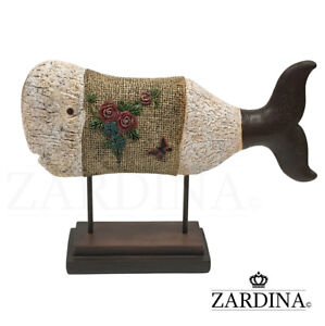 Creative Whale Sculpture Home Office Decor Ornament Gift (Limited Edition)