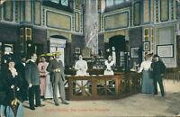 Ansichtskarte Baden-Baden Das Innere der Trinkhalle 1918 Personen  (Nr.855)