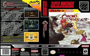 - Chrono Trigger NTSC SNES Replacement Game Case Box + Cover Art Work Only