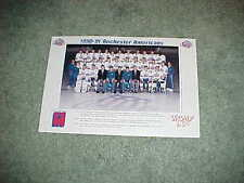 1990 Rochester Americans AHL Team Hockey Photo