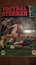 Voetbalsterren Dutch Eredivisie 1973/74 with Johan Cruyff, Ajax, Feyenoord, PSV