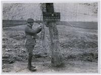1.Weltkrieg, Projektil-Sammelstelle, Orig-Pressephoto um 1917