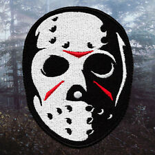 Jason Mask - Friday the 13th | Embroidered Patch | Horror