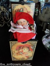 1987 Enesco Annabelle Jack-In-The-Box Reuge / Switzerland Music Box Rare
