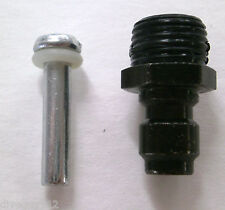 Paintball Asa Adapter Qd Male Fill Nipple Replacement Valve