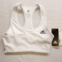 New Adidas Run Performance Sports Bra Womens Sz XS Climalite On Lock Bra