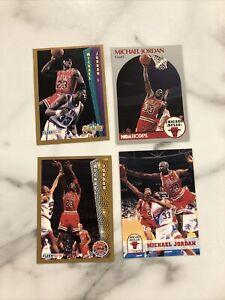 Michael Jordan 4 Card Lot