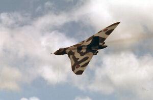 original 35mm Aircraft slide   XM602 Vulcan B2 101Sqd  IAT Greenham Common Jun 1