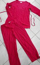 Pyjama ETAM 44 rouge bordeaux 44 style asiatique