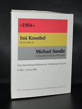 Wilhelm Lehmbruck Museum # IMI KNOEBEL + Michael Sandle # 1984, nm
