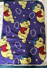 "Disney Winnie The Pooh Fleece Purple Blanket 48"" X 61"""