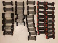 Lego Bulk Lot Wheels Car Tires Vehicle Grey Black Rubber