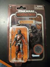 Star Wars The Vintage Collection  MANDALORIAN Carbonized in hand