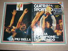 GUERIN SPORTIVO=N°28 1982 (396) =L'ITALIA E CAMPIONE DEL MONDO=ASSENTE IL POSTER