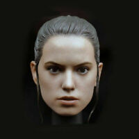 1/6 The Force Awakens Rey Head Carved Sculpt Star Wars F 12'' Female Figure Body