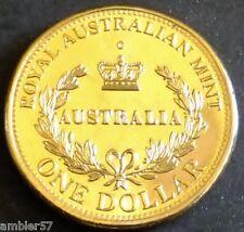 **2016 Australia's First Mints C mintmark $1 coin UNC **