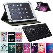 For Samsung Galaxy Tab A 8-Inch SM-T387 2018 Case Cover with Wireless Keyboard