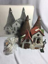 DEPT 56 PORCELAIN BISHOPS OAST HOUSE #5567-0 DICKENS VILLAGE BOX LIGHT