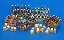 Plus Model Bierflaschen Bierkrüge / Beer Bottles and Crates  1:35 Art. 220
