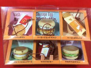 McDonald's morning Mac strap 2nd complete BOX F/S JAPAN